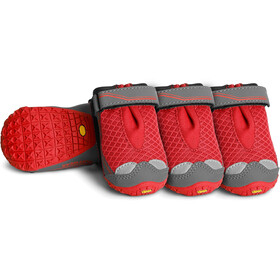 Ruffwear Grip Trex Hondenschoenen box van 4, red currant